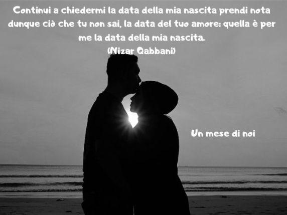 Frasi Per Mesiversario D Amore.Buon Mesiversario 139 Dediche Con Immagini Video Lettere E Frasi Di Mesiversario Passione Mamma