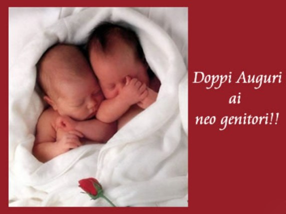 auguri di nascita