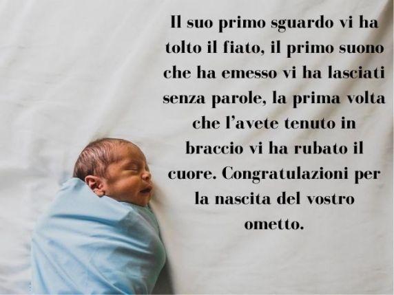 auguri per nascita