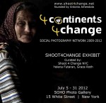 Flyer Evento NY Shoot4Change