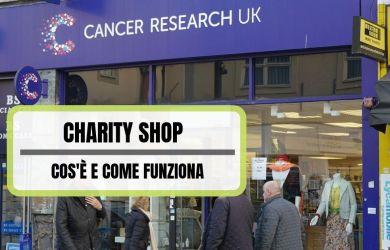 Charity Shop come funziona e cosa vende
