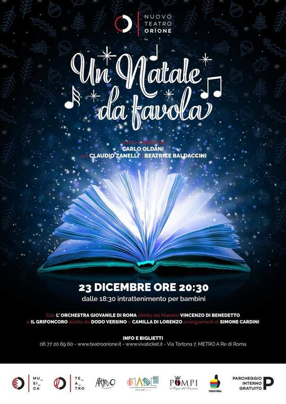 Un Natale da Favola: a teatro con Sensacional