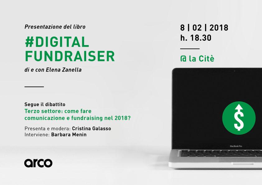 Presentazione del libro #Digital Fundraiser di Elena Zanella