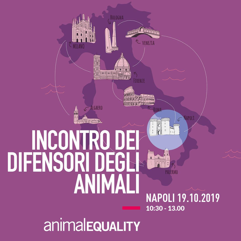 Incontro dei Difensori degli Animali a Napoli