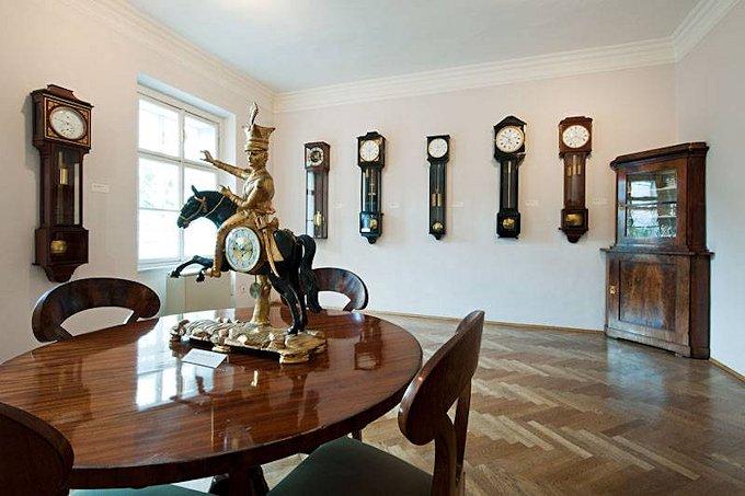Le curiosità del museo degli orologi a Vienna