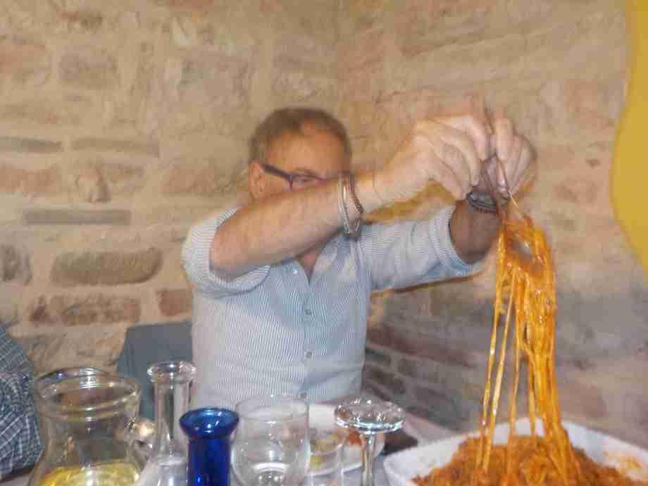 """1 Maggio 2018 Sassoferrato (AN) """"Tutti in pista! anzi……. in pasta !!"""""""