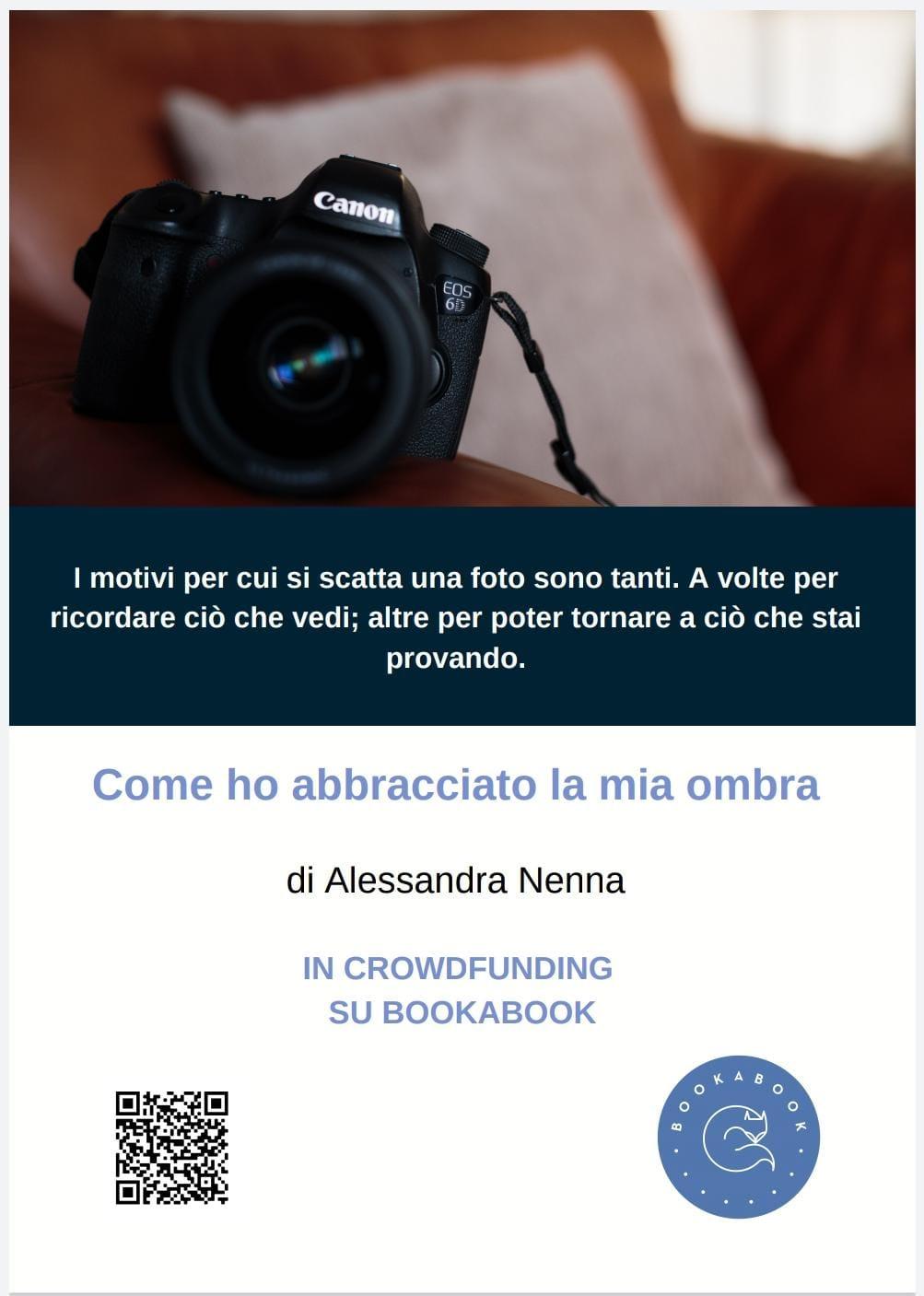 """Alessandra Nenna e il suo ultimo libro """"Come ho abbracciato la mia ombra"""""""