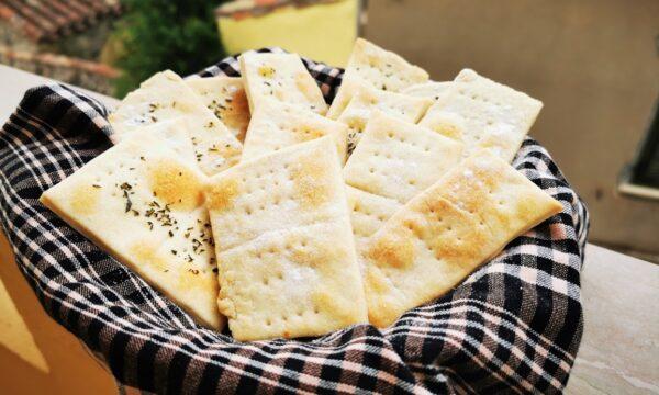 Crackers fatti in casa (Ramona cook around)
