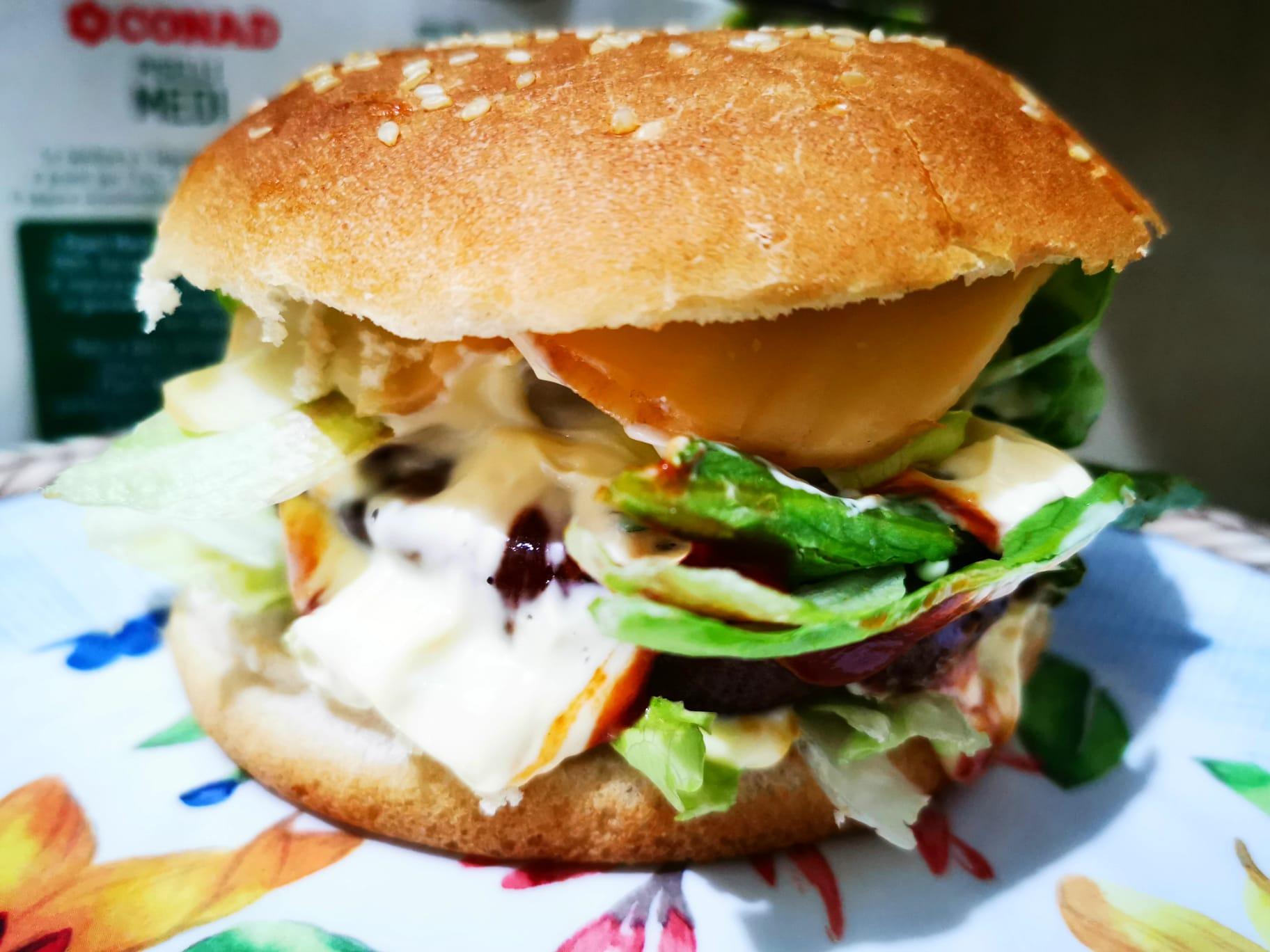 I Black Angus burger preparati da Ramy