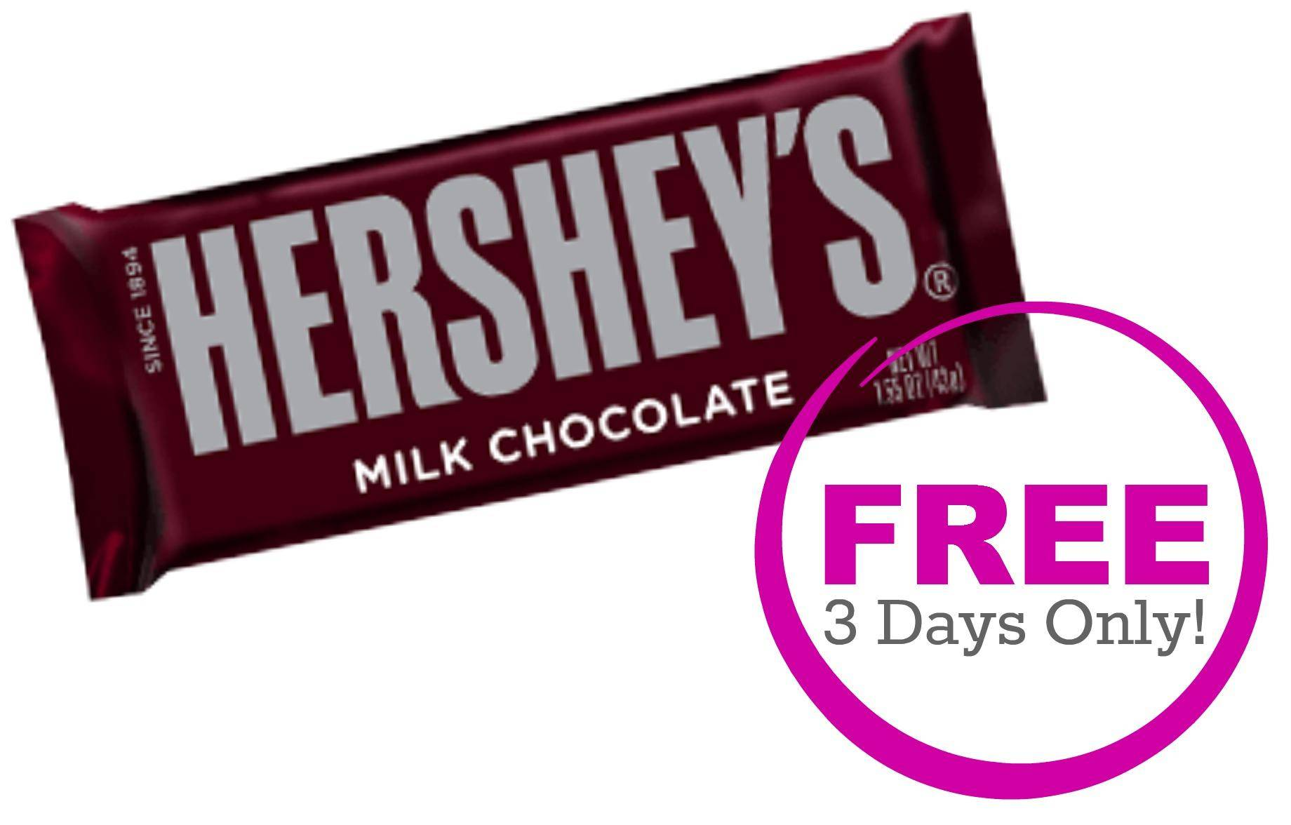 Free Hershey S Candy Bar Coupon