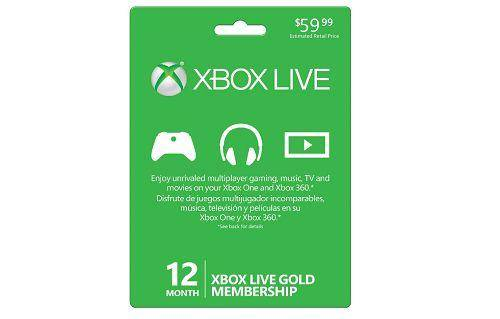 Lowest Price On Xbox Live Gold Cards 35 For 12 Months