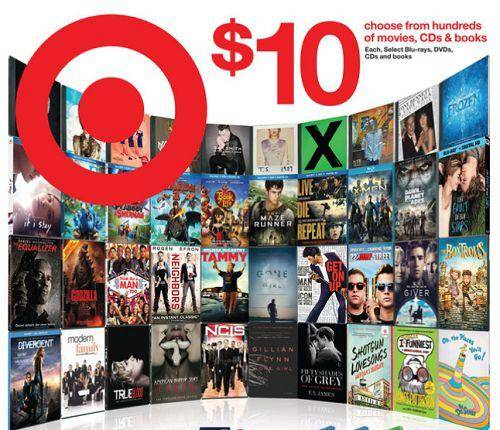 Target DVDs On Sale For 10 FREE Pick Up