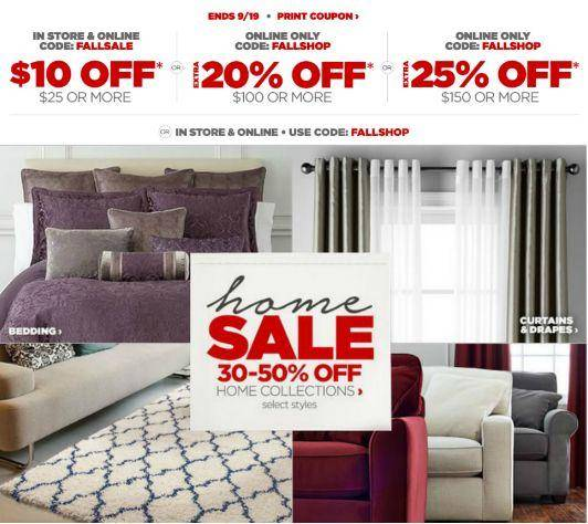 JCPenney Clearance Sale 10 Off 25 Coupons