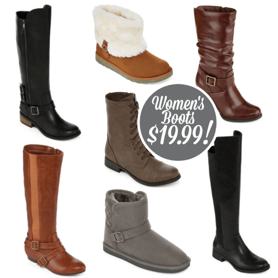 Womens Boots Sale JCPenney Code Only 1999