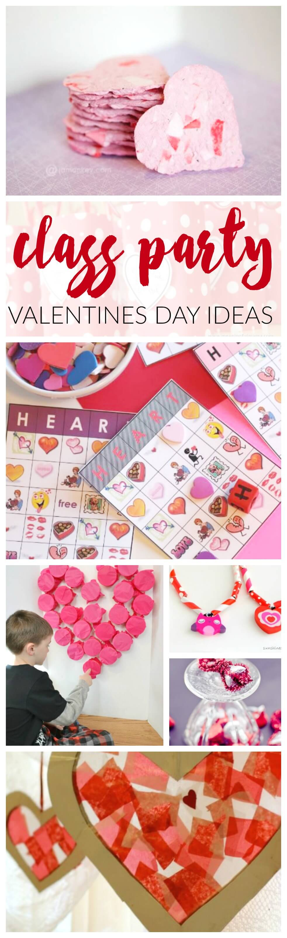 Valentines Day Class Party Ideas
