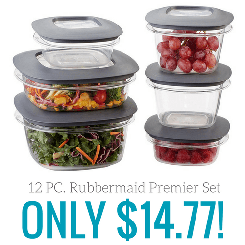 Image Result For Rubbermaid Pc Premier Food Storage Set