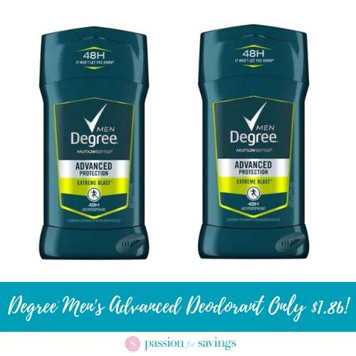 Degree Deodorant Coupons Best Sales Cheap Deals