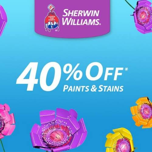 Sherwin Williams Coupons For 10 Off 50 Paints Stains
