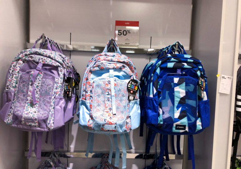 jcpenney backpack lunch bag sets on