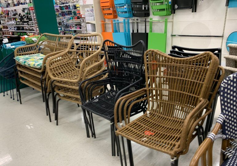 patio stacking patio chairs on sale