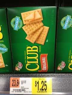 Club Crackers Coupon