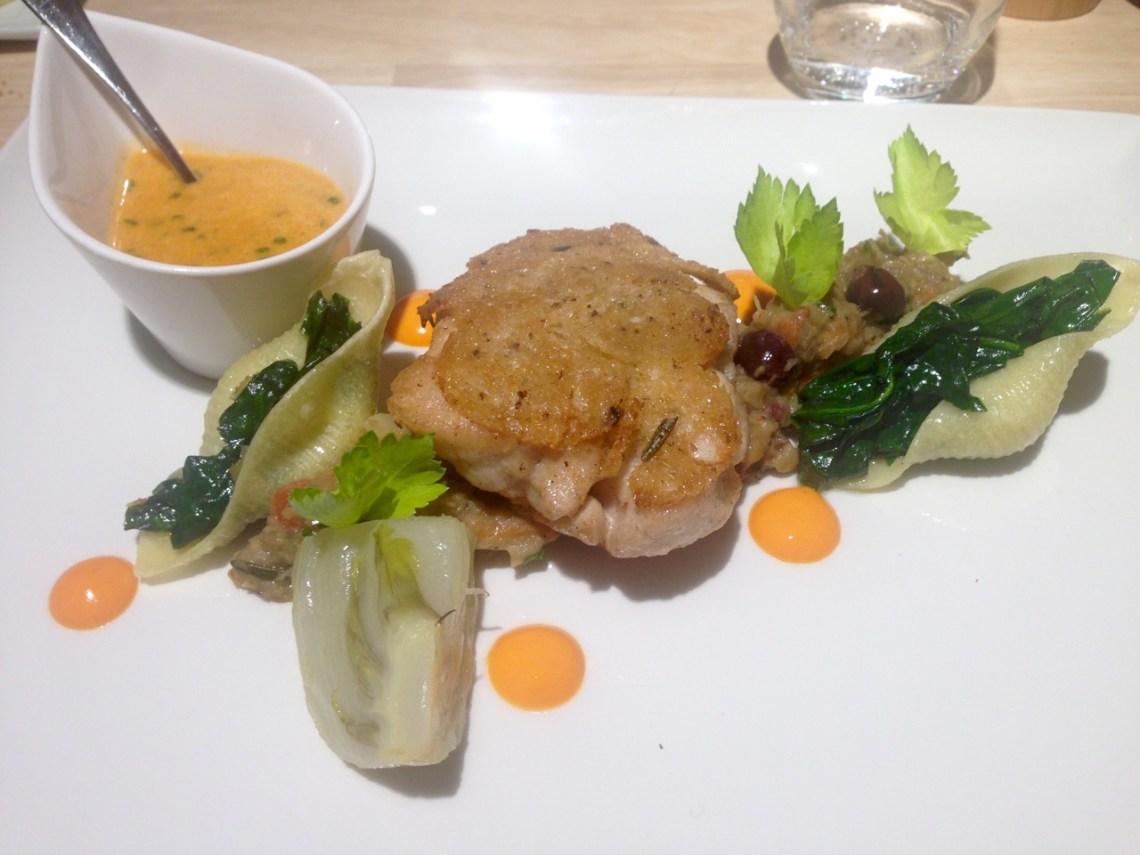 Restaurant Héliport Brasserie à Liège - Ris de veau