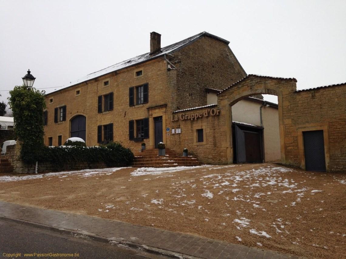 Restaurant La Grappe D'Or à Torgny : le restaurant