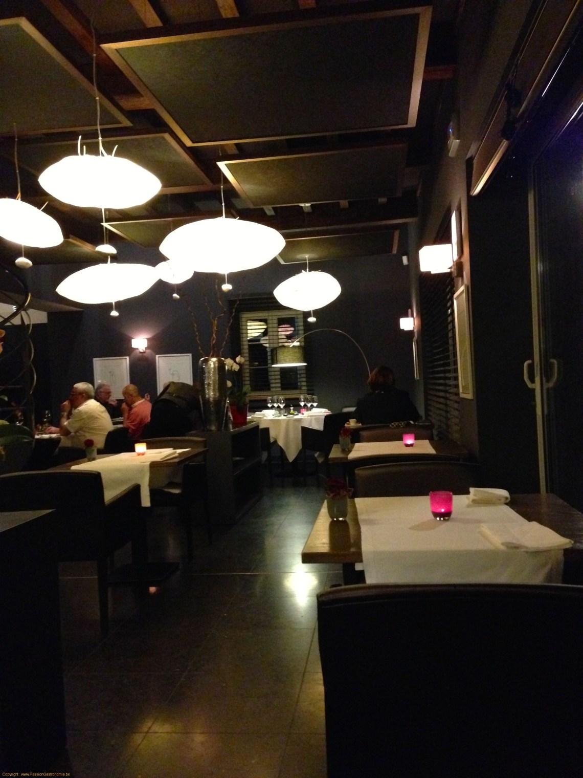 Restaurant La Table de Maxime : la salle du restaurant
