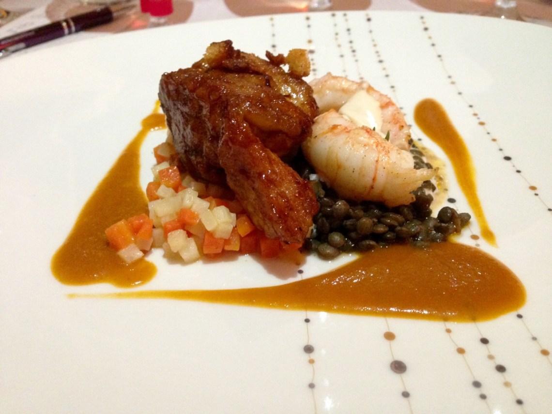 Restaurant Le Chateau de Strainchamps - Ris de veau