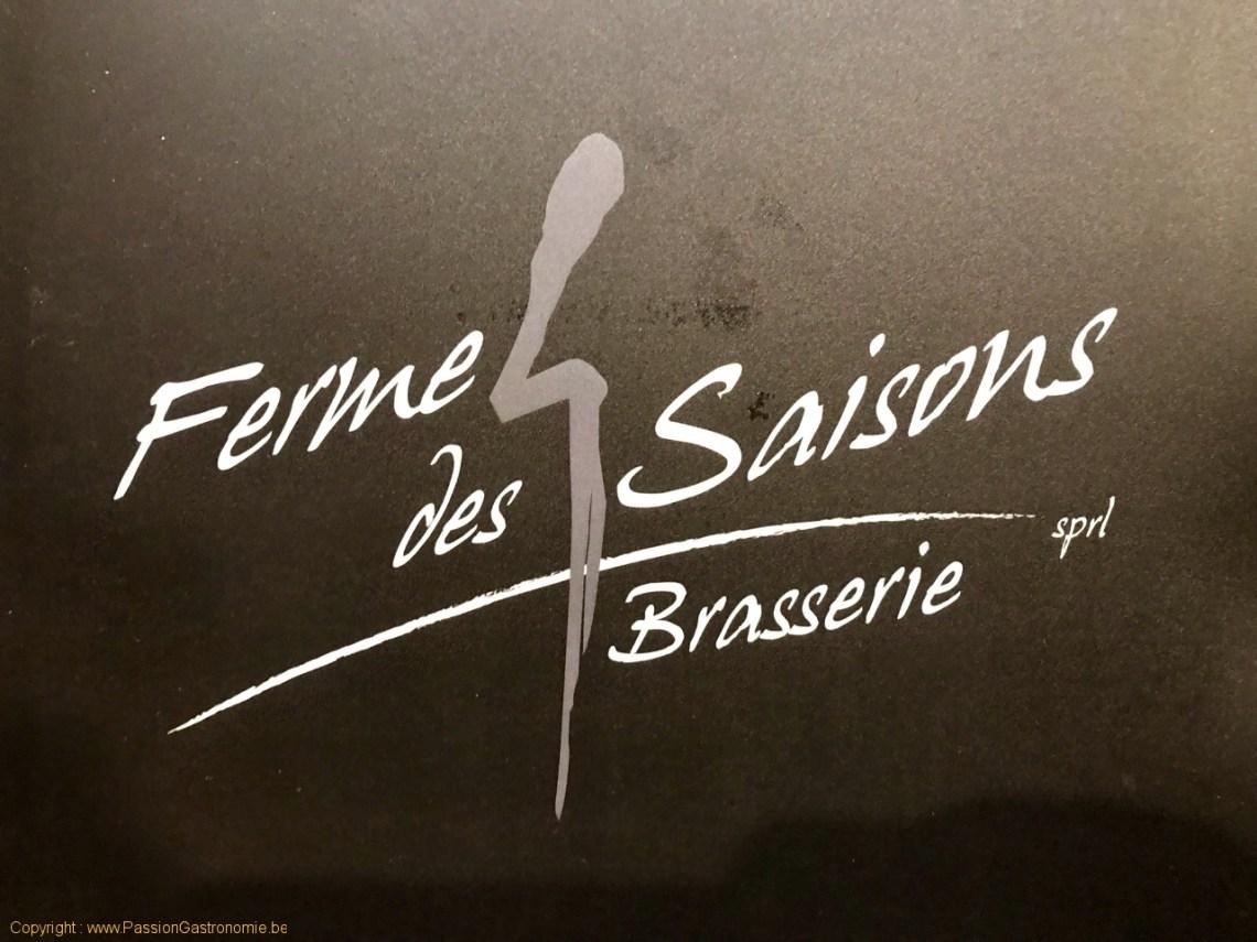 Restaurant Ferme des 4 saisons - Le logo