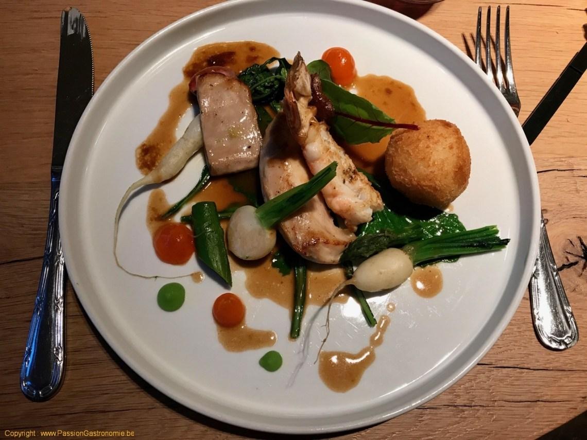 Restaurant Le Carré d'herbes - Lapereau