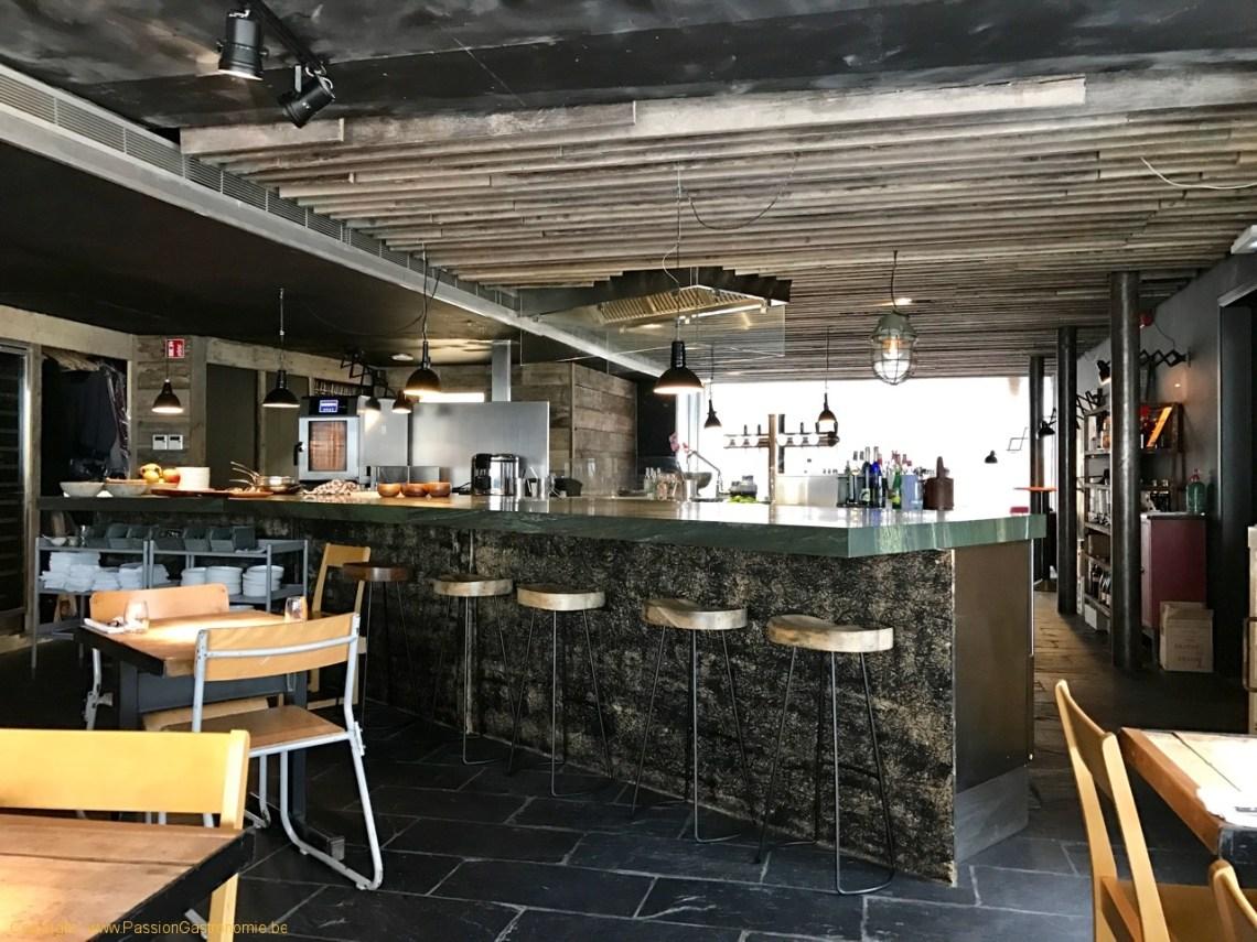 Restaurant Humphrey à Bruxelles - La cuisine