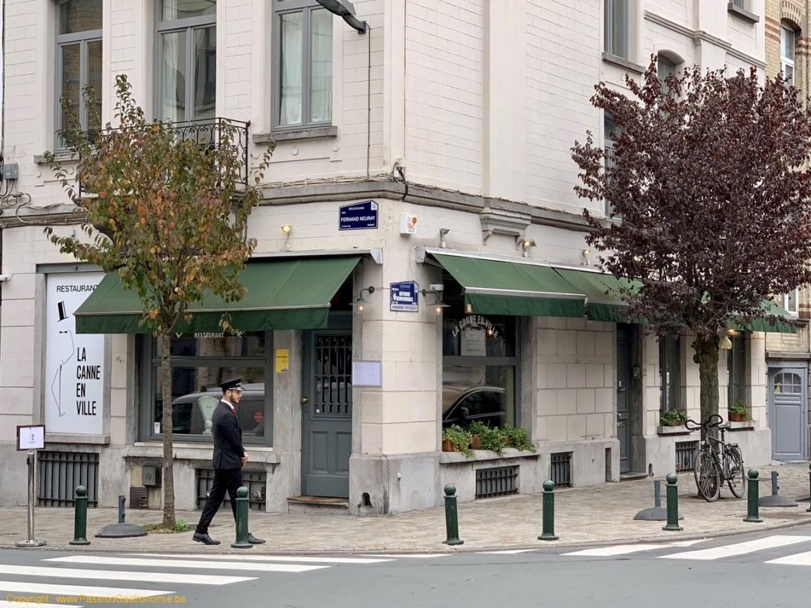 Restaurant La Canne en Ville - Le voiturier