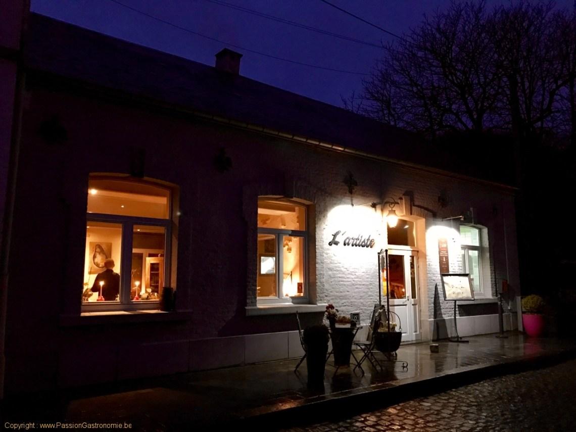 Restaurant L'Artiste à Falaen - Le bâtiment