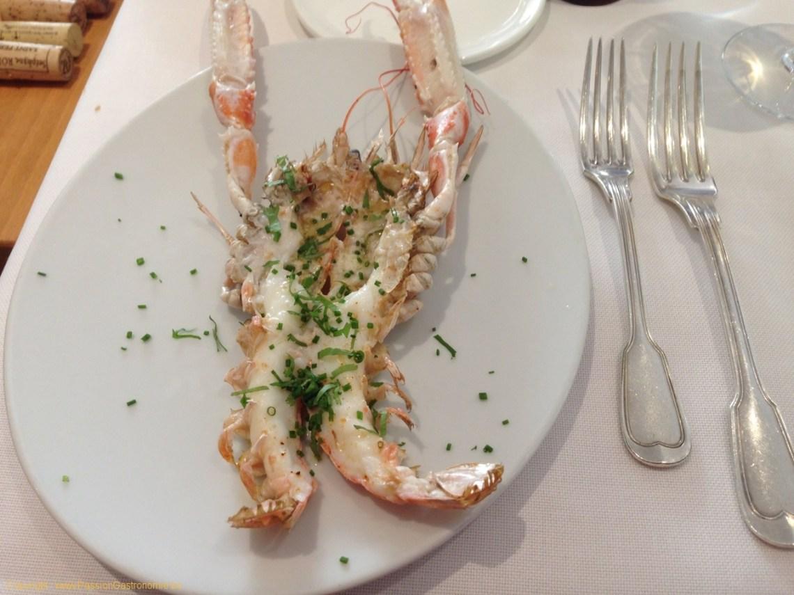 Restaurant Le Gril aux herbes d'Evan - Langoustines