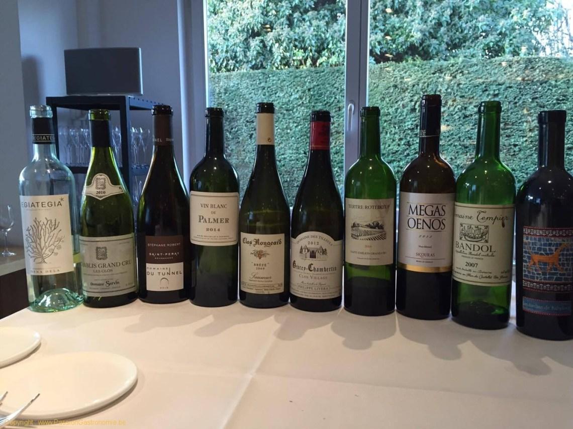 Restaurant Le Gril aux herbes d'Evan - Les vins du repas