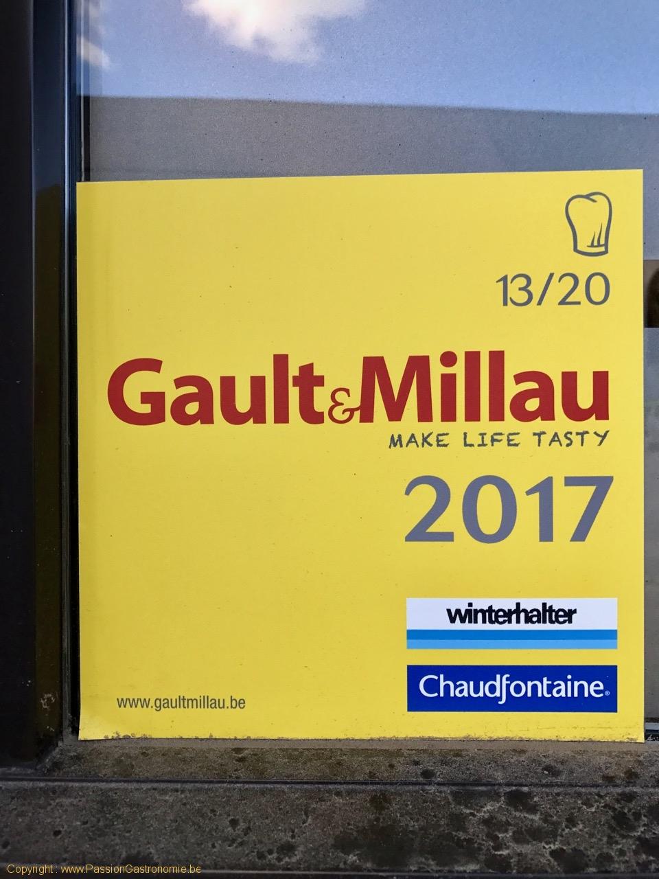 Restaurant Le Mont-A-Gourmet - 13/20 au Gault & Millau 2017