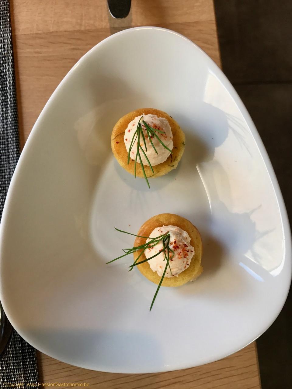 Restaurant Le Mont-A-Gourmet - Mise en bouche