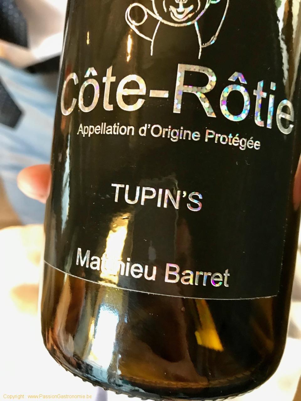Restaurant Le Mont-A-Gourmet - Côte-Rôtie Tupin's