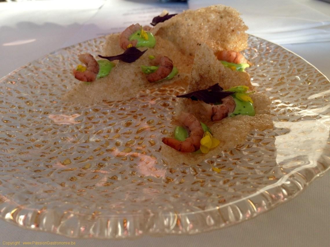 Restaurant L'Envie - Kroepoek de crevettes