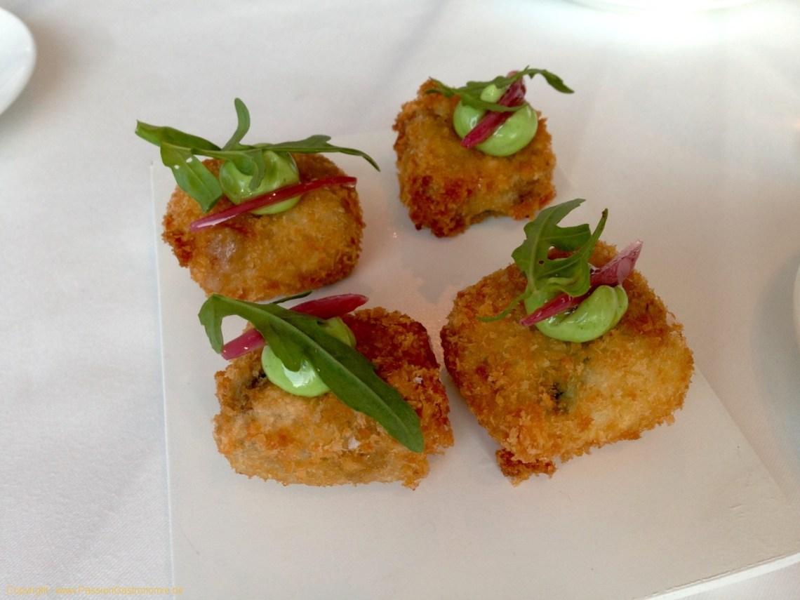 Restaurant L'Envie - Croquettes de pied de porc