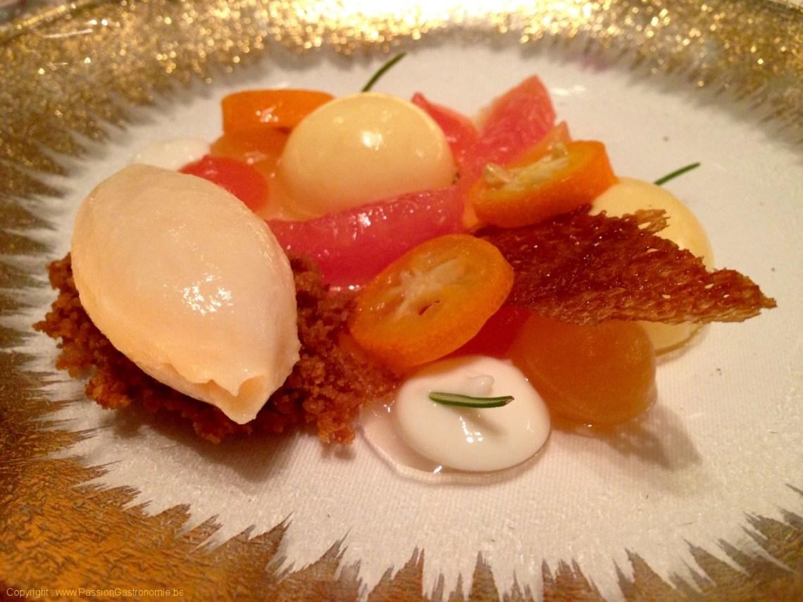 Restaurant L'Envie - Pamplemousse et Kumquat