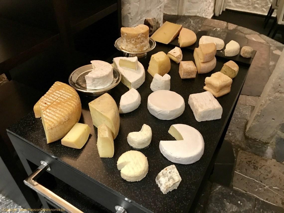Restaurant Le Prieuré Saint-Géry - Chariot de fromages