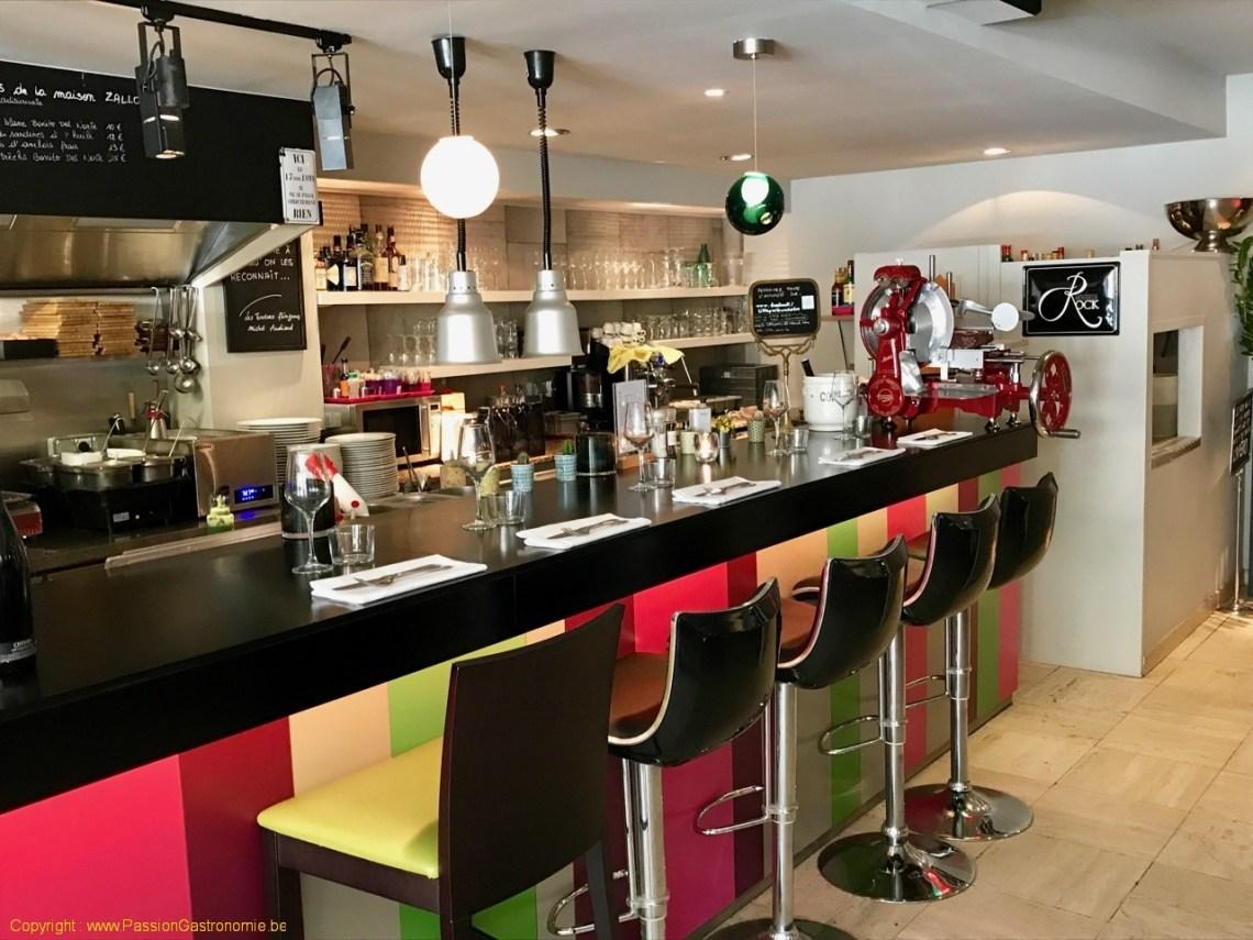 Restaurant Little Paris - Le comptoir
