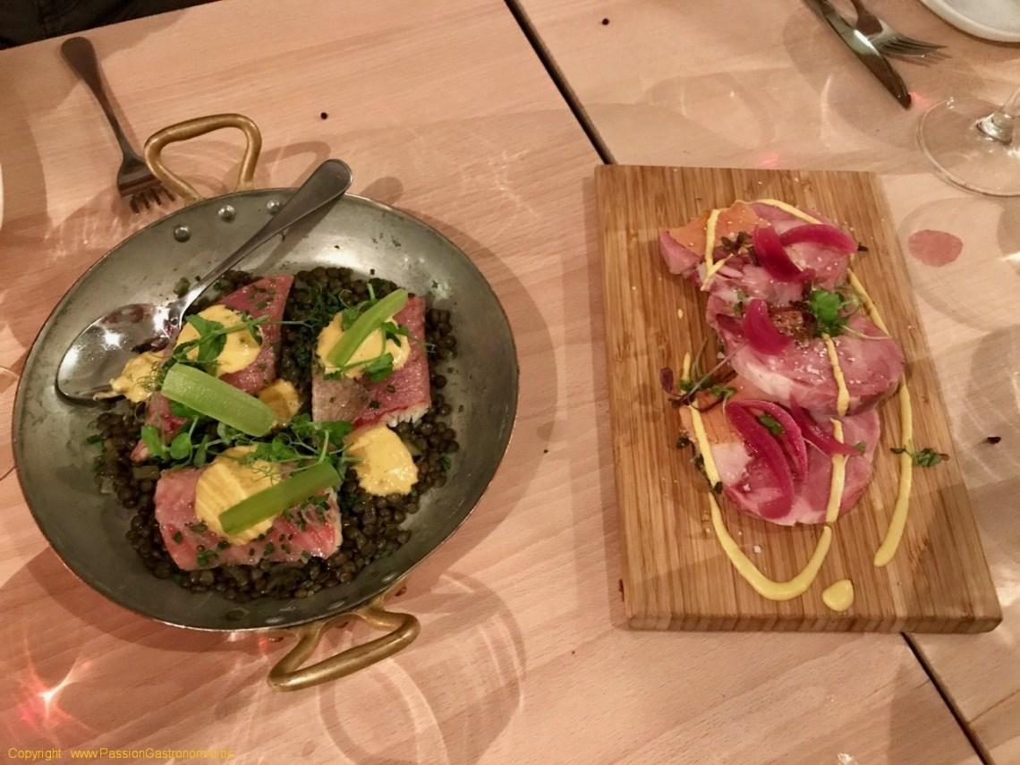 Restaurant Little Paris - Jambonneau et Anguille