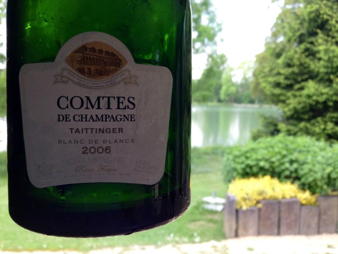 Restaurant Maxime Colin à Kraainem - Taittinger Comtes de Champagne 2006