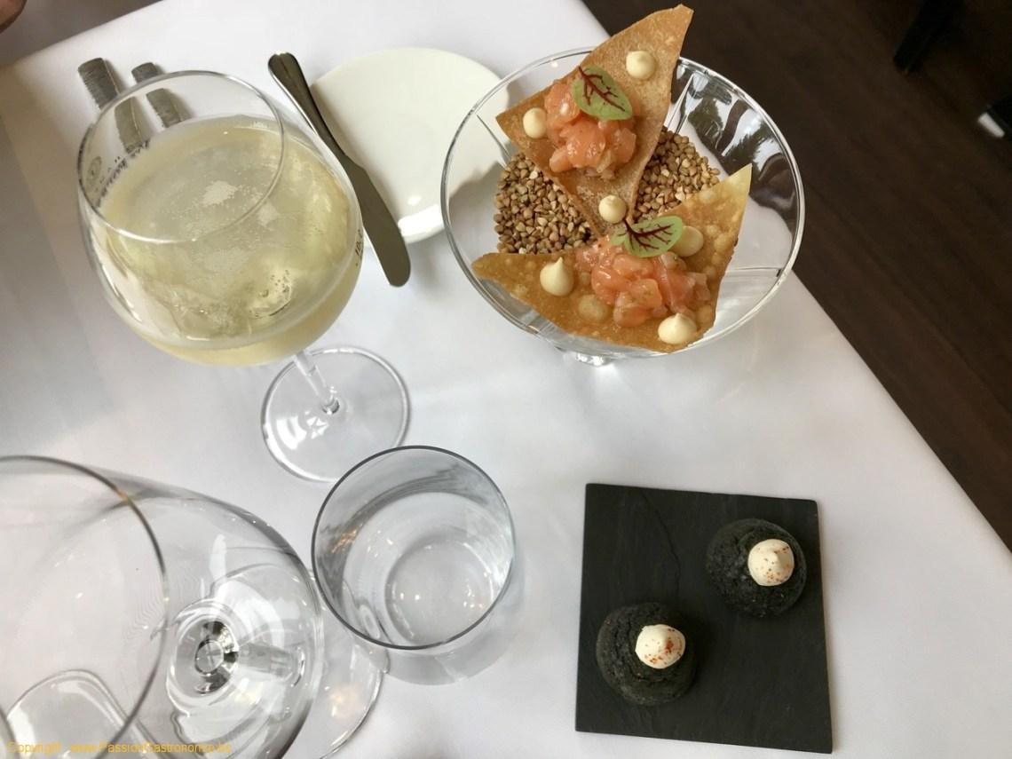 Restaurant Maxime Colin - Mises en bouche