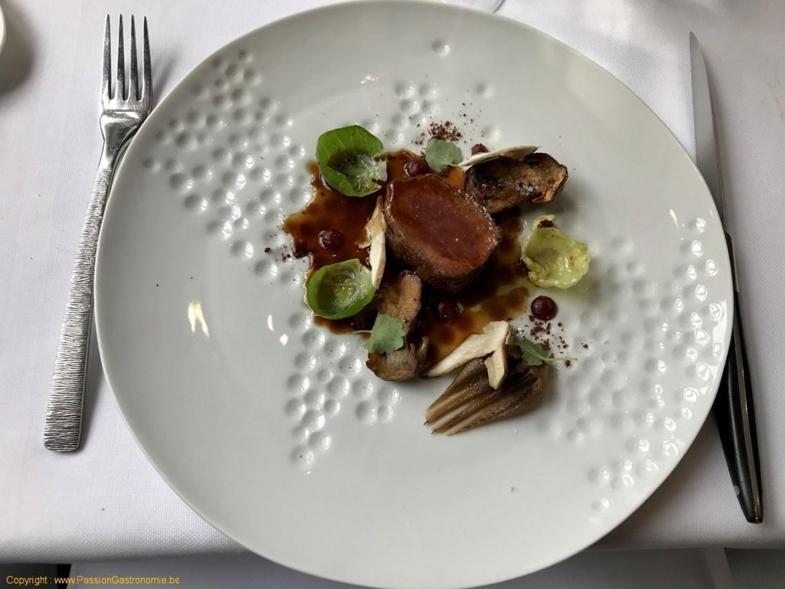 Restaurant Maxime Colin - Dos de brocard