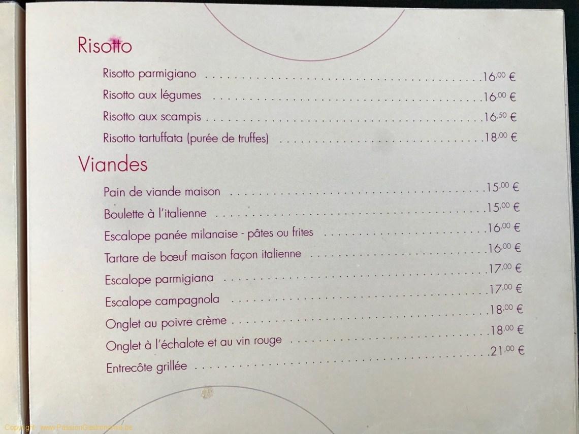 Restaurant On600Bien - Risotto et viandes