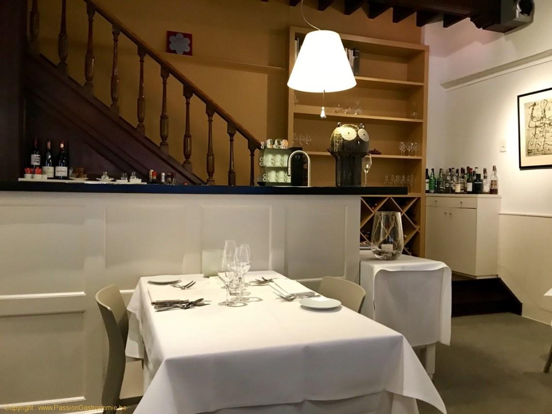 Restaurant Philippe Nuyens - La salle